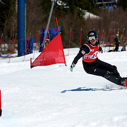 2010 Olympic gold medalist Jasey-Jay Anderson last career race in Mont Tremblant, Qc Canada Canadian Snowboard Championship
