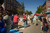 New Hampshire Coffee Festival in downtown Laconia.   Karen Bobotas for the Laconia Daily Sun