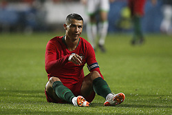 June 7, 2018 - Lisbon, Portugal - Portugal's forward Cristiano Ronaldo  during the FIFA World Cup Russia 2018 preparation match between Portugal vs Algeria in Lisbon on June 7, 2018. (Credit Image: © Carlos Palma/NurPhoto via ZUMA Press)