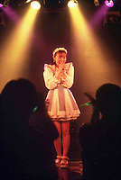 TOKYO, JAPAN --- August 1999:  Performance at an Otaku Idol event.. --- Photo by Tom Wagner/Corbis SABA