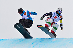 World Cup SBX, POZZERLE Manuele, ITA at the 2016 IPC Snowboard Europa Cup Finals and World Cup