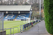 The MBi Shay Stadium before the Vanarama National League match between FC Halifax Town and Dover Athletic at the Shay, Halifax, United Kingdom on 17 November 2018.