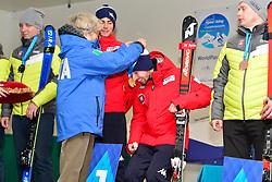Super Combined and Super G, Medal Ceremony at the WPAS_2019 Alpine Skiing World Championships, Kranjska Gora, Slovenia