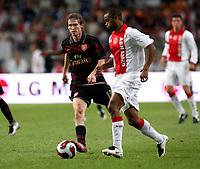 Photo: Maarten Straetemans.<br /> Arsenal v Ajax. LG Amsterdam Tournament. 04/08/2007.<br /> Alexander Hleb (Arsenal)