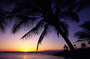 Sunset, Kohala Coast, Island of Hawaii<br />