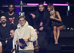 Martin Garrix und Mario Gˆtze mit Ann-Kathrin Brˆmmel (hintergrund rechts) bei Verleihung der MTV Europe Music Awards in Rotterdam / 061116<br /> <br /> *** The show during the MTV Europe Music Awards in Rotterdam, Netherlands, November 06, 2016 ***
