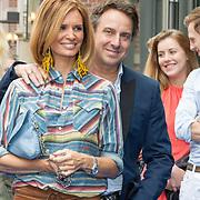 NLD/Amsterdam/20150620- Filmpremiere Code M, Leontine Borsato en Marco Borsato