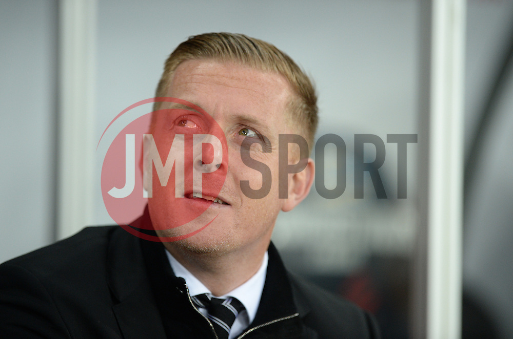 Swansea City Manager Garry Monk - Mandatory byline: Alex James/JMP - 05/12/2015 - Football - Liberty Stadium - Swansea, Wales - Swansea City v Leicester City - Barclays Premier League