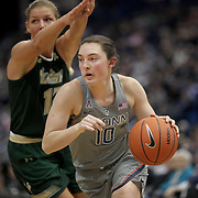 HARTFORD, CONNECTICUT- JANUARY 10: Molly Bent #10 of the Connecticut Huskies in action during the the UConn Huskies Vs USF Bulls, NCAA Women's Basketball game on January 10th, 2017 at the XL Center, Hartford, Connecticut. (Photo by Tim Clayton/Corbis via Getty Images)