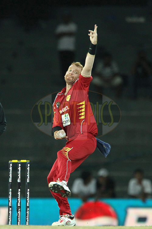 Andrew McDonald during match 21 of the Sri Lankan Premier League between Uva Next and Nagenahiras held at the Premadasa Stadium in Colombo, Sri Lanka on the 27th August 2012. .Photo by Ron Gaunt/SPORTZPICS/SLPL
