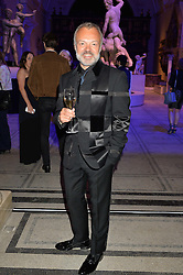 GRAHAM NORTON at a private view of Alexander McQueen's Savage Beauty exhibition hosted by Samsung BlueHouse at the V&A, London on 30th March 2015.