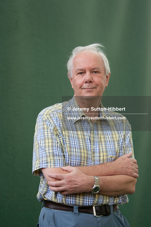 Ian Stewart, author of 'Mathematics of Life', at the annual Edinburgh International Book Festival, in Edinburgh, Scotland, Tuesday 23rd August 2011.