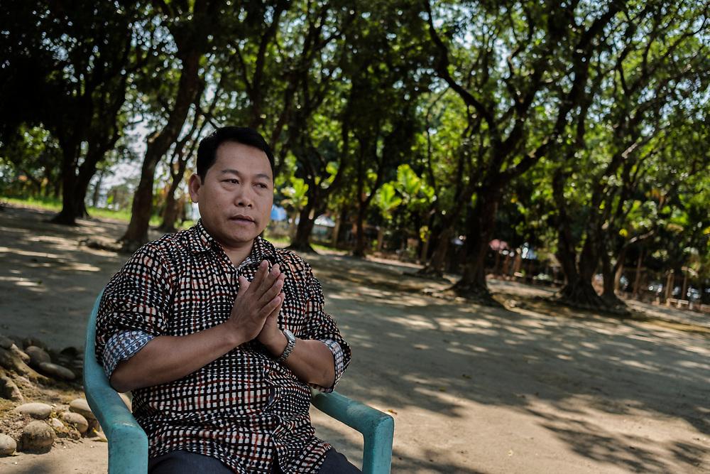 20170227 Myitkyina<br /> Mr. Tang Gun, Secretary of Myitkyina Region Pat Ja San Kachin State, Myanmar.<br /> Photo: Vilhelm Stokstad / Kontinent