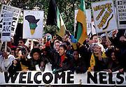 London Welcomes Nelson Mandela - 1997