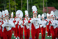 LHS Sachems Marching Band for home opener Football game.  Karen Bobotas for the Laconia Daily Sun