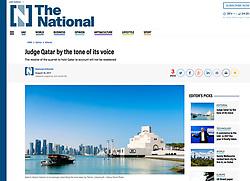 The National, UAE; Doha Museum of Islamic Art