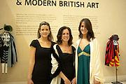 CLIO PAKENHAM; MIMI PAKENHAM; ALEX PAKENHAM; , Picasso and Modern British Art, Tate Gallery. Millbank. 13 February 2012