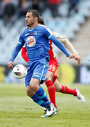 07.04.2012, Stadion Coliseum Alfonso Perez, Getafe, ESP, Primera Division, FC Getafe vs Sporting Gijon, 32. Spieltag, im Bild Getafe's Mehdi Lacen // during the football match of spanish 'primera divison' league, 32th round, between FC Getafe and Sporting Gijon at Coliseum Alfonso Perez stadium, Getafe, Spain on 2012/04/07. EXPA Pictures © 2012, PhotoCredit: EXPA/ Alterphotos/ Alvaro Hernandez..***** ATTENTION - OUT OF ESP and SUI *****