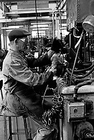 Chainmaking in the Black Country Birmingham in the 1970's