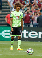 Football - 2016 / 2017 Premier League - West Ham United vs. AFC Bournemouth<br /> <br /> Bournemouth's Nathan Aké at The London Stadium.<br /> <br /> COLORSPORT/DANIEL BEARHAM