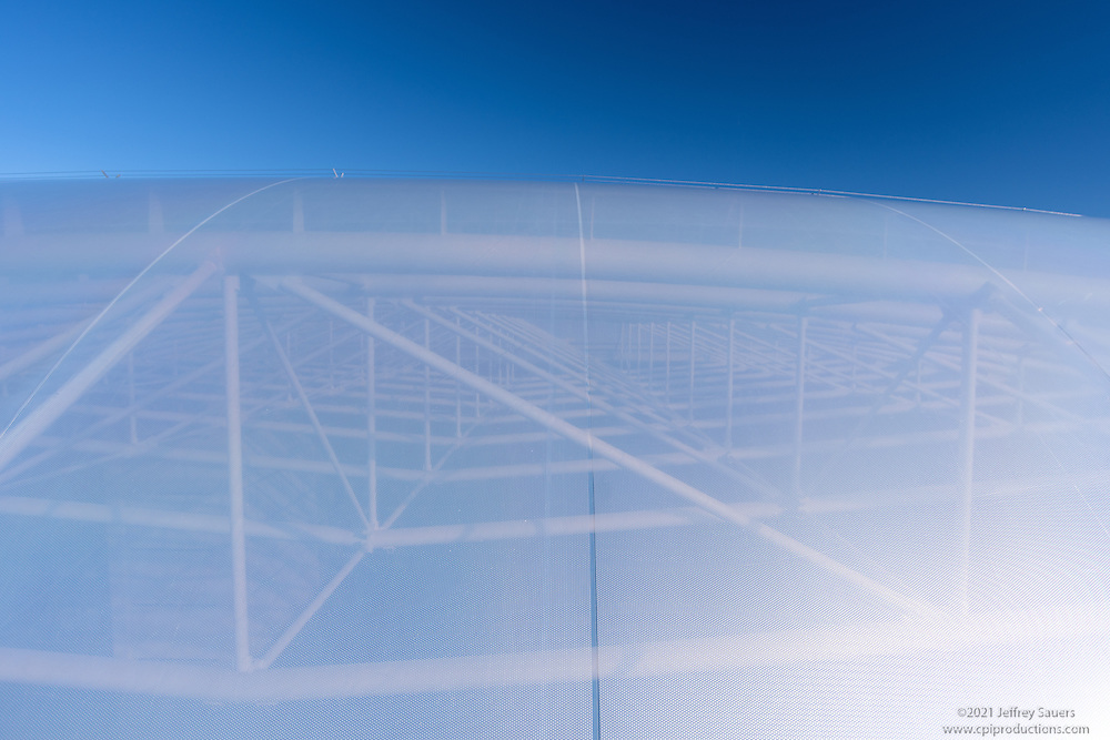 Exterior Image of ETFE Skylight in Rockville Maryland Office Building by Jeffrey Sauers of Commercial Photographics, Architectural Photo Artistry in Washington DC, Virginia to Florida and PA to New England