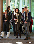 HAIDA GWAII- BC- CANADA- 30th Sept-2016 <br /> <br /> Prince William, the Duke of Cambridge and Princess Catherine, the Duchess of Cambridge visit the remote community of Haida Gwaii in northern British Colombia on the penultimate day of their visit to Canada.<br /> William and Kate arrived at Skdegate by Canoe and went on the see the Haida Herritage Centre and Hospital before finishing the day with a fishing trip.<br /> ©Exclusivepix Media