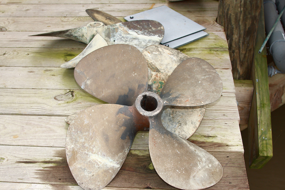 Propellor, Pilottown, LA