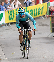 02.07.2017, Graz, AUT, Ö-Tour, Österreich Radrundfahrt 2017, 1. Etappe, Prolog, im Bild Oscar Gatto (ITA, Astana Pro Team) // Oscar Gatto (ITA, Astana Pro Team) during the Stage 1, Prolog of 2017 Tour of Austria. Graz, Austria on 2017/07/02. EXPA Pictures © 2017, PhotoCredit: EXPA/ Reinhard Eisenbauer