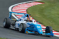 #27 Callan O'KEEFFE (RSA) Douglas Motorsport during British F3 Championship as part of the BRDC British F3/GT Championship Meeting at Oulton Park, Little Budworth, Cheshire, United Kingdom. April 15 2017. World Copyright Peter Taylor/PSP.