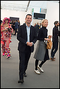 MATHEW SLOTOVER, Opening of Frieze art Fair. London. 14 October 2014
