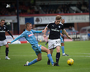 Bolton Wanderers' Stephen Darby tackles Bolton Wanderers' Mark Howard - Dundee v Bolton Wanderers pre-season friendly at Dens Park, Dundee, Photo: David Young<br /> <br />  - © David Young - www.davidyoungphoto.co.uk - email: davidyoungphoto@gmail.com