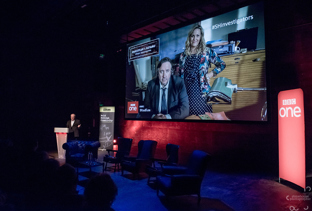 Brand new BBC Daytime drama Shakespeare &amp; Hathaway &ndash; Private Investigators, is due to hit TV screens late February, 150 lucky people got the chance to view a private screening of the first episode.<br /> On Friday 9 February, The Other Place in Stratford-upon-Avon, an actual location featured in the drama, the venue to held the screening and, a special question and answer session hosted by Midlands Today presenter Rebecca Wood. She was joined by Jo Joyner, Mark Benton, Patrick Walshe McBride and the show&rsquo;s producer Ella Kelly.<br /> The ten-part drama from BBC Studios, created by Paul Matthew Thompson and Jude Tindall, will see Frank Hathaway (Benton), a hardboiled private investigator, and his rookie sidekick Luella Shakespeare (Joyner), form the unlikeliest of partnerships as they investigate the secrets of rural Warwickshire&rsquo;s residents.<br /> Beneath the picturesque charm lies a hotbed of mystery and intrigue: extramarital affairs, celebrity stalkers, missing police informants, care home saboteurs, rural rednecks and murderous magicians. They disagree on almost everything, yet somehow, together, they make a surprisingly effective team &ndash; although they would never admit it.<br /> Will Trotter, head of BBC Daytime Drama at the BBC Drama Village, comments, &ldquo;For years we have been producing quality drama at the BBC Drama Village, and Shakespeare &amp; Hathaway is no different. It&rsquo;s the perfect programme to indulge in, and like many of the programmes that we make in Birmingham, we&rsquo;ve been out and about in the county to film in some of the best locations the Midlands has to offer. <br /> &ldquo;We&rsquo;re looking forward to seeing the audience reactions to the first episode, it&rsquo;s got a whodunit storyline with a brilliant introduction to the main characters, but leaves you with some questions which makes the audience want to come back for more!&rdquo; <br /> Notes to editors<br /> For more information on the series you can contact hollie.druce@bbc.co.uk. <br /> Quotes from the cast:<br /> Mark Benton says: &ldquo;As soon as I