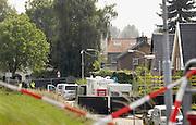 Nederland, Kekerdom,10-9-2012In een woning in het dorpje Kekerdom bij Nijmegen zijn drie doden gevonden. Vermoedelijk zijn ze door een geweldsmisdrijf om het leven gekomen. Ook zijn er wietplanten, mogelijk een wietplantage, aangetroffen in de woning die bewoond werd door een politieman, rechercheur.Foto: Flip Franssen/Hollandse Hoogte