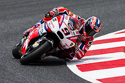 June 9, 2017 - Barcelona, Catalonia, Spain - 09 Danilo Petrucci from Italy of Octo Pramac Racing (Ducati) during the Monter Energy Catalonia Grand Prix, at the Circuit de Barcelona-Catalunya on June 9 of 2017. (Credit Image: © Xavier Bonilla/NurPhoto via ZUMA Press)