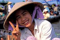 Vietnam. Delta du Mekong. Can Tho. // Vietnam. Mekong Delta. Can Tho.