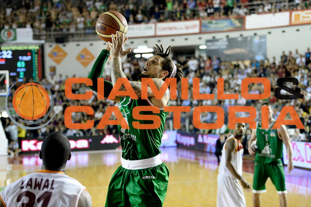 DESCRIZIONE : Roma Lega A 2012-13 Acea Virtus Roma Montepaschi Siena Finale Gara 5<br /> GIOCATORE : Daniel Hackett<br /> CATEGORIA : tiro <br /> SQUADRA : Montepaschi Siena<br /> EVENTO : Campionato Lega A 2012-2013 Play Off Finale Gara 5<br /> GARA : Acea Virtus Roma Montepaschi Siena Finale Gara 5<br /> DATA : 19/06/2013<br /> SPORT : Pallacanestro <br /> AUTORE : Agenzia Ciamillo-Castoria/N. Dalla Mura<br /> Galleria : Lega Basket A 2012-2013 <br /> Fotonotizia : Roma Lega A 2012-13 Acea Virtus Roma Montepaschi Siena Finale Gara 5
