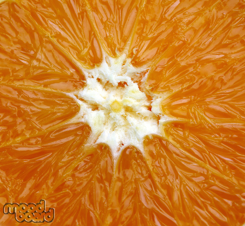 Orange slice  - close- up