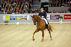 Van Lieren Laurens (NED) - Hexagon's Ollright<br /> CDI-W 's Hertogenbosch 2008<br /> Photo © Hippo Foto