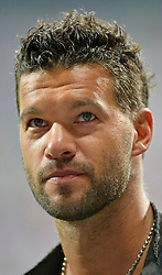 06.09.2013, Allianz Arena, Muenchen, GER, FIFA WM Qualifikation, Deutschland vs Oesterreich, Rueckspiel, im Bild Verabschiedung von Ex-Kapitaen El Capitano Michael Ballack Portrait, , , Qualifikation Weltmeisterschaft Brasilien 2014 Rueckspiel , Saison 2013 2014 Muenchen Allianz-Arena, 06.09.2013 // during the FIFA World Cup Qualifier second leg Match between Germany and Austria at the Allianz Arena, Munich, Germany on 2013/09/06. EXPA Pictures © 2013, PhotoCredit: EXPA/ Eibner/ Michael Weber<br /> <br /> ***** ATTENTION - OUT OF GER *****