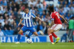 Anthony Knockaert of Brighton & Hove Albion in action - Mandatory by-line: Jason Brown/JMP - 12/08/2016 - FOOTBALL - Amex Stadium - Brighton, England - Brighton & Hove Albion v Nottingham Forest - Sky Bet Championship