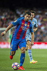 August 10, 2016 - Barcelona, Catalonia, Spain - FC Barcelona forward SUAREZ in action against the UC Sampdoria in the Joan Gamper Trophy between FC Barcelona and UC Sampdoria at the Camp Nou stadium in Barcelona (Credit Image: © Matthias Oesterle via ZUMA Wire)