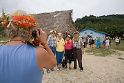 Welcoming ceremony, Kioa Island, Fiji, Melanesia, South Pacific