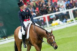 Funnell Pippa, (GBR), Second Supreme<br /> Dressage <br /> Mitsubishi Motors Badminton Horse Trials - Badminton 2015<br /> © Hippo Foto - Jon Stroud<br /> 08/05/15
