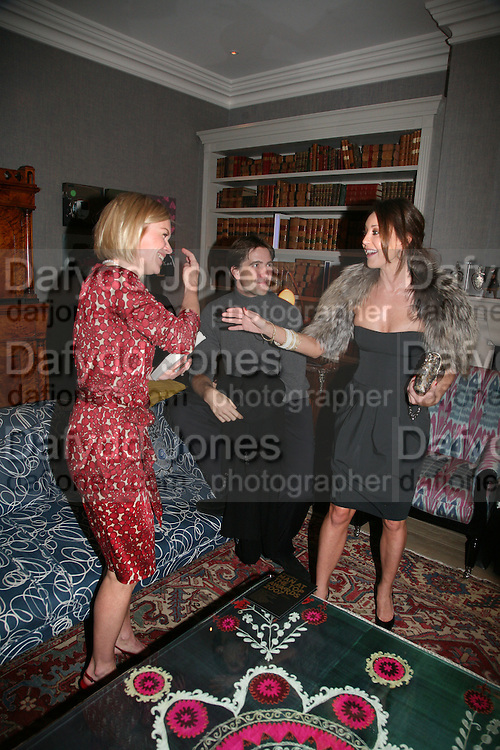 Mariella Frostrup, Kris Thykier and Tamara Mellon, The Esquire and Glenmorangie Man At the Top Awards 2007. The Haymarket Hotel London. 5 November 2007. -DO NOT ARCHIVE-© Copyright Photograph by Dafydd Jones. 248 Clapham Rd. London SW9 0PZ. Tel 0207 820 0771. www.dafjones.com.