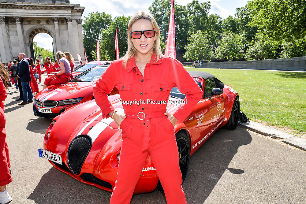 Carmen Jorda attend Cash & Rocket Photocall at Wellington Arch, on 6 June 2019, London, UK