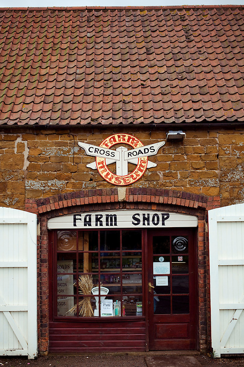 The Crossroads Farm shop, Leicestershire