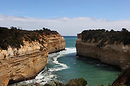 The Loch Ard Gorge along the Great Ocean road of Australia.  Photo by Dennis Brack
