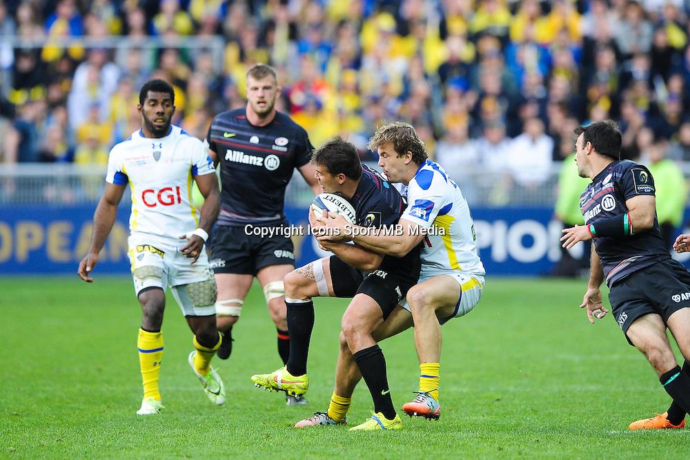 Aurelien ROUGERIE - 18.04.2015 - Clermont / Saracens - 1/2Finale European Champions Cup<br />Photo : Jean Paul Thomas / Icon Sport