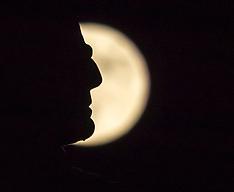 Wolf Super Moon | Edinburgh | 1 January 2018