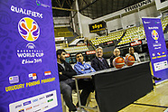 Selección Nacional de Basketball recibe pabellón Nacional.